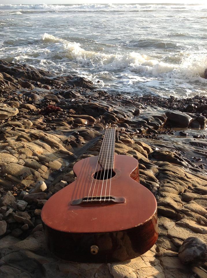 Guitar Porn - Agate Beach