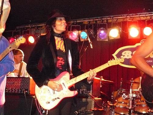 BB Kinks, NYC - Shaunna Hall with P-Funk